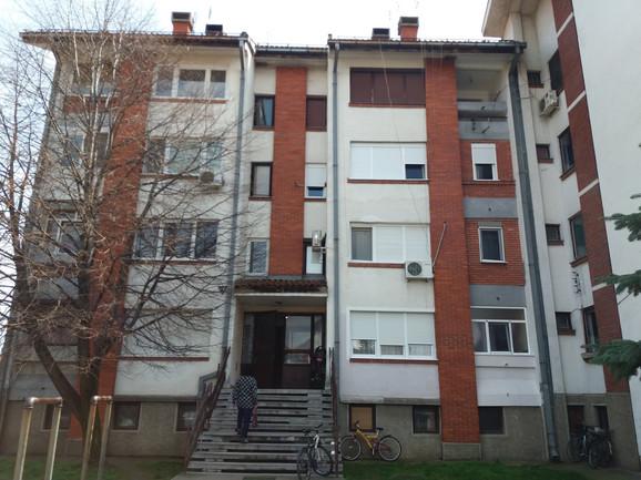 Zgrada u kojoj je ubijena Mirjana