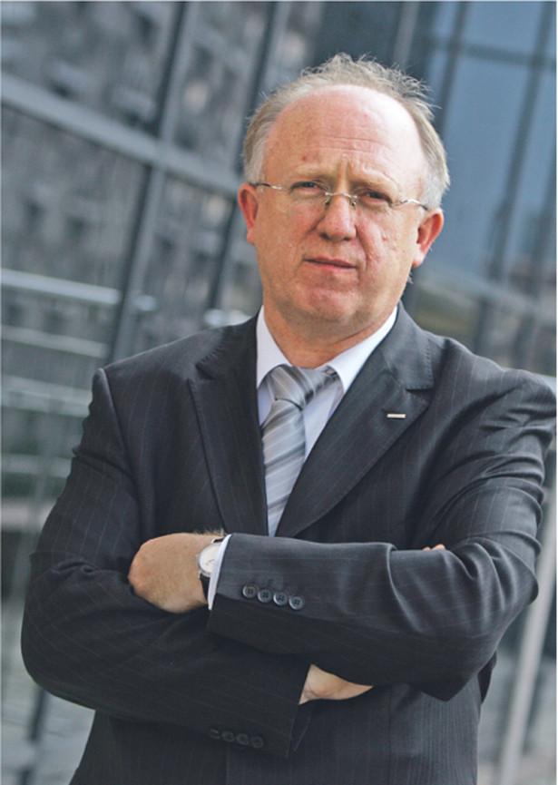 Herbert Wirth, prezes KGHM, ujawnił, że koncern przymierza się do zakupu złóż miedzi w Ameryce Południowej Fot. Marek Wiśniewski/Forum