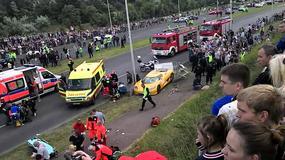 Wypadek Koenigsegg... i motocykle w tle