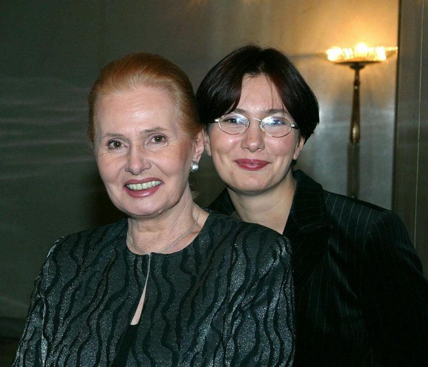 Elżbieta Sommer z córką