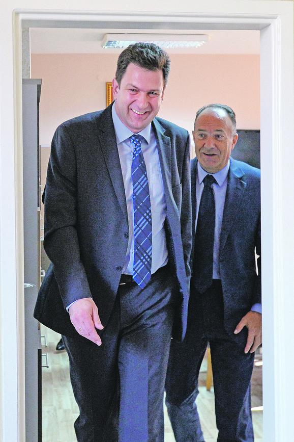 Aleksandar Pajić i Mladen Šarčević