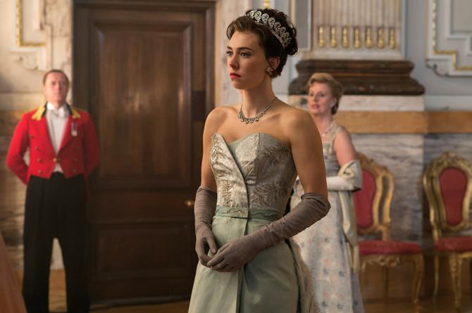 Vanesa Kirbi kao princeza Margaret