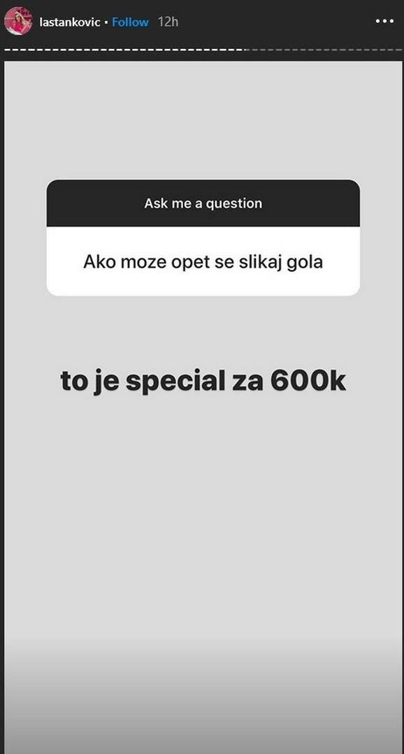 Objava Lee Stanković