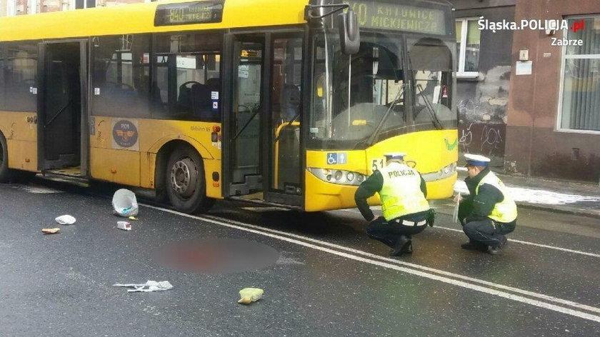 Tutaj doszło do wypadku