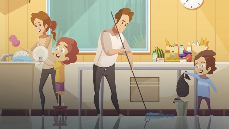 Czy domowe obowiązki dziecka można połączyć z fajną zabawą? Tak!