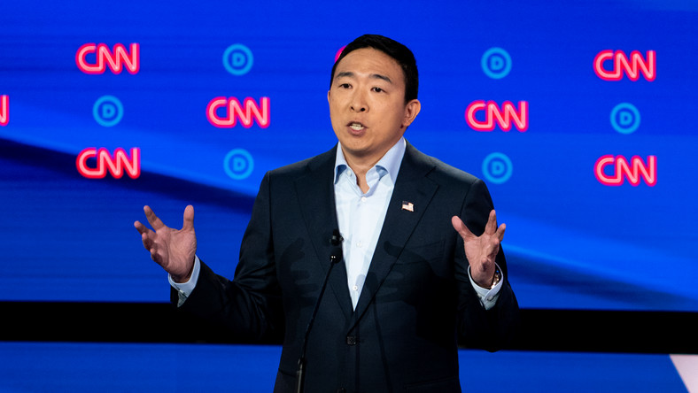 Poll Results Put Yang in Lineup for Debates