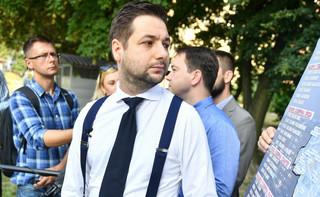 Warszawa: Patryk Jaki rozpoczął akcję '100imy pod blokiem'; na początek – Bielany