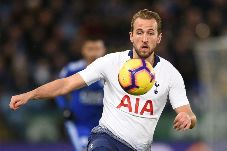 Tottenham striker Harry Kane came on as a second-half substitute against Leicester