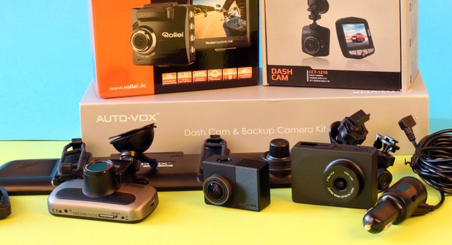 Vergleichstest: Neun Dashcams ab 16 Euro