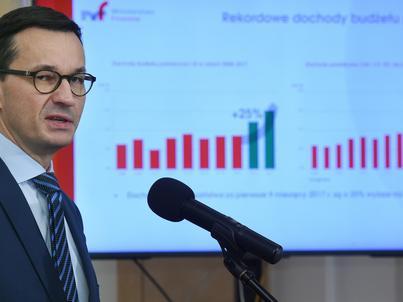 Nadwyżka budżetowa po wrześniu wyniosła 3,8 mld zł