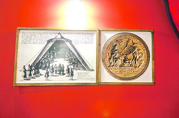 U čast ovom sporazumu Austrija je iskovala 21 zlatnu medalju