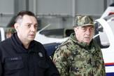 Aleksanar Vulin, Vojni aerodrom Batajnica, Migovi, Lasta