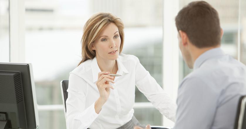 Podczas rozmowy kwalifikacyjnej warto przejąć inicjatywę