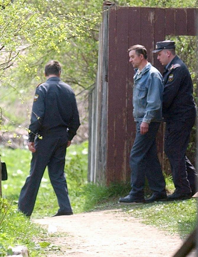 Hapšenje Viktora Mokova