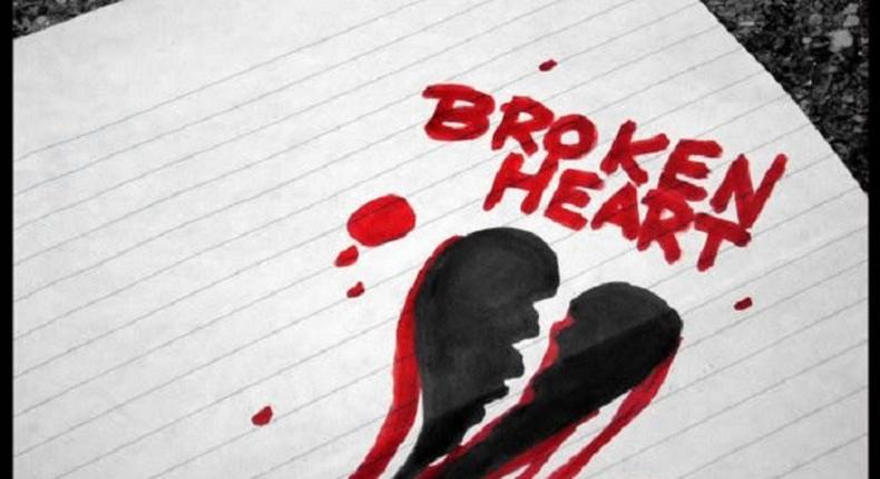 A broken heart can lead to death.