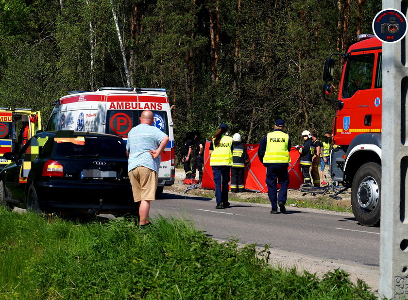 Tragedia pod Piasecznem. 7-latka zginęła na oczach matki