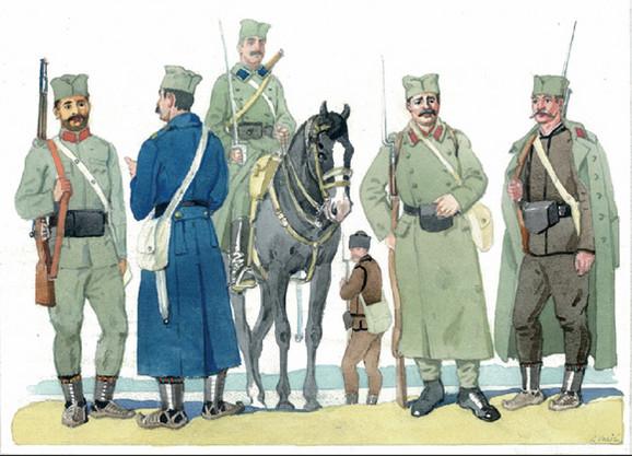 Uniforme srpske vojske