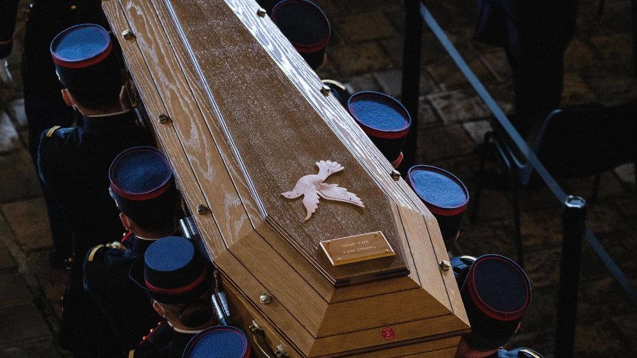Pogrzeb Samuela Paty'ego