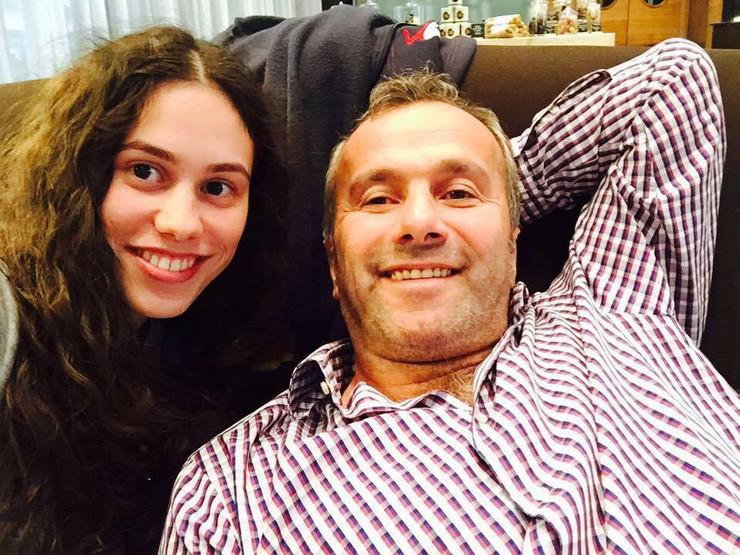 Tamara Savićević i Dejan Savićević