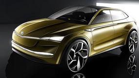 Szanghaj 2017: Skoda Vision-E – elektryczny Kodiaq Coupe