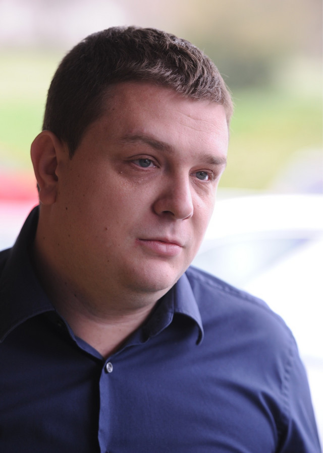 Miloš Vazura, generalni direktor Partizana