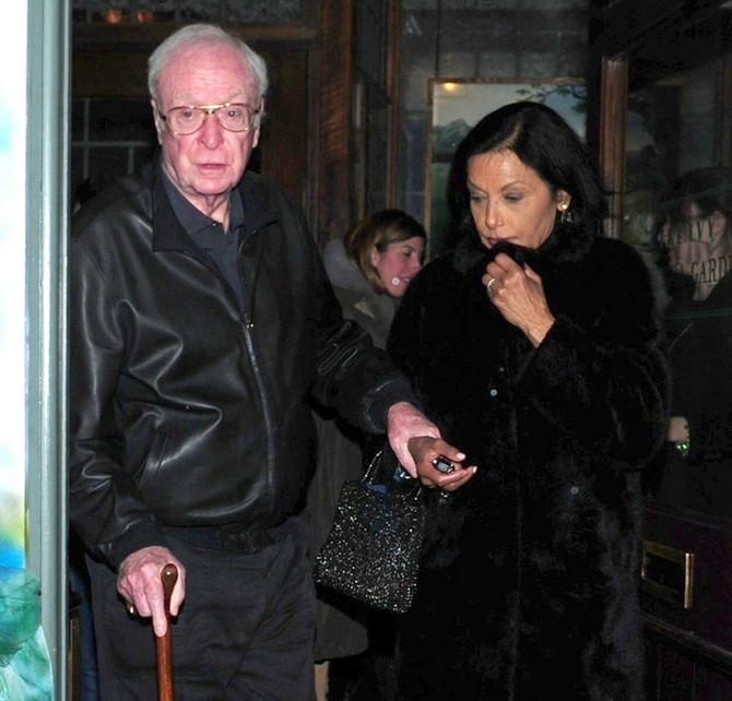 Šakira i Majkl Kejn nedavno u Londonu