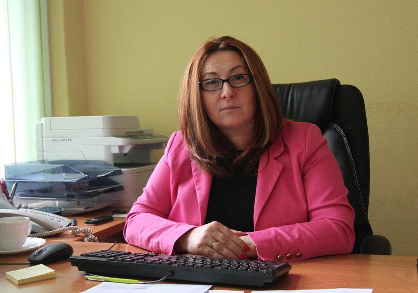 Iwona Malek, kierownik MOPS w Gryficach