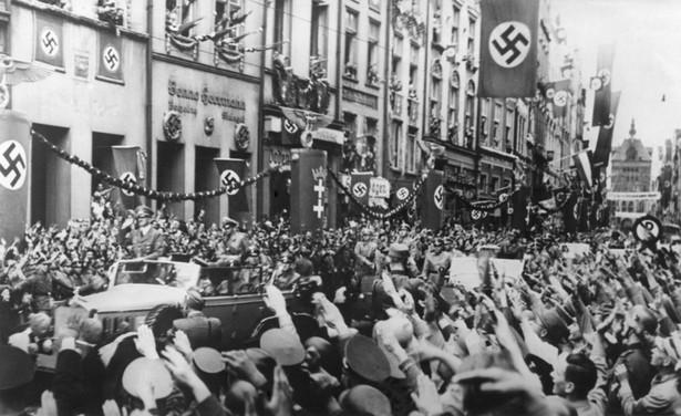 Wjazd Hitlera do Gdańska 1939 r.