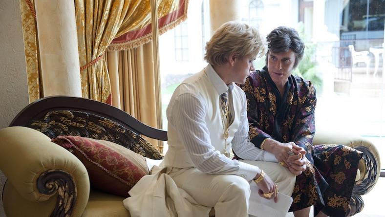 "Michael Douglas i Matt Damon w filmie ""Behind The Candelabra"""