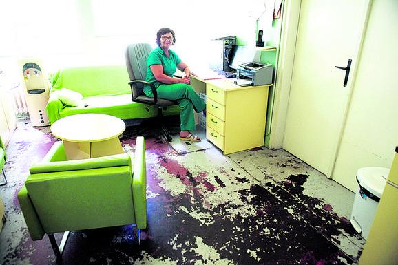 Podovi u porodilištu su bili u lošem stanju