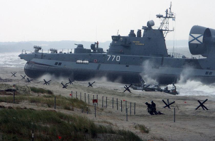 Manewry rosyjskiej marynarki wojennej w ramach ćwiczeń ZAPAD i ŁADOGA 2009