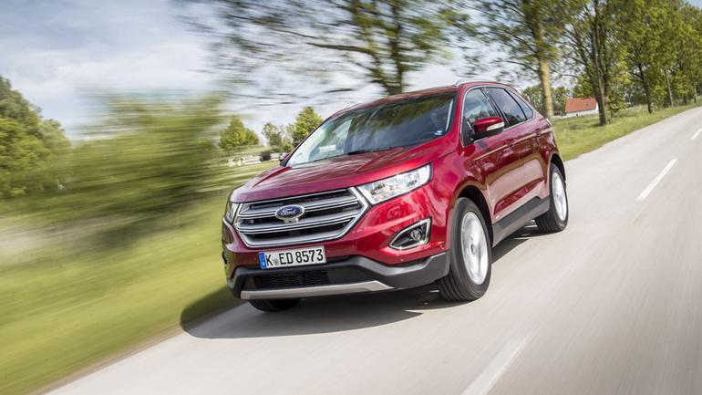 Ford Edge 2.0 TDCi- olbrzym z manierami