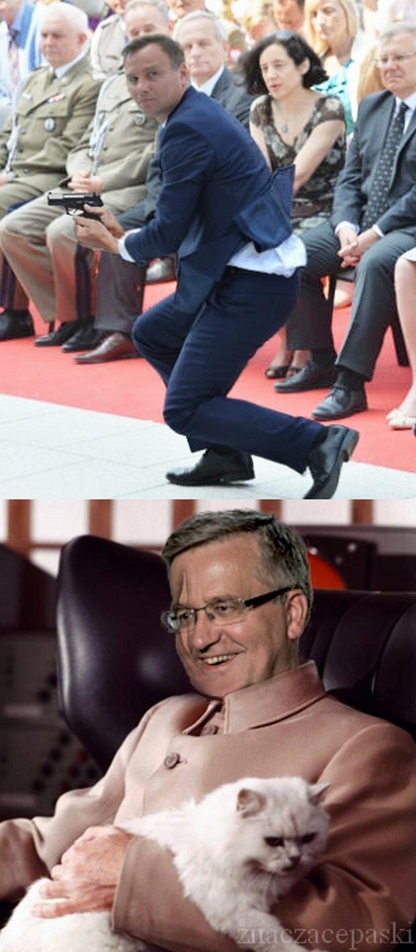 Nowy prezydent jak James Bond