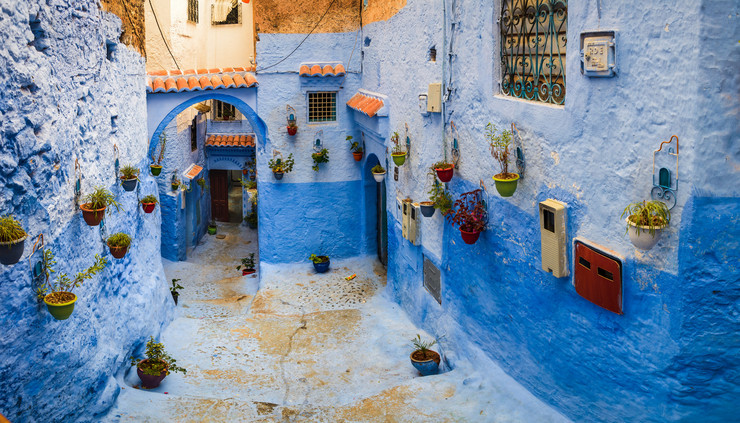najlepše ulice03 Chefchaouen foto Flickr Anthony Tong Lee