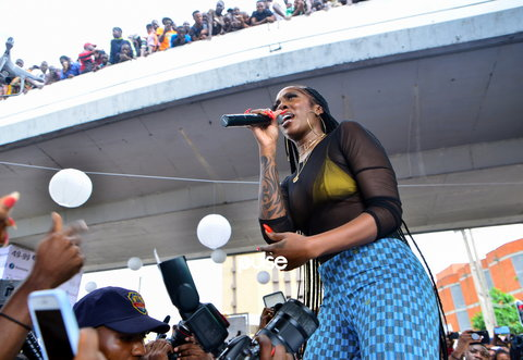 Oosp...while some OAPs at City FM were insulting Tiwa Savage, little did they know that they were being recorded and the music star is calling them out for it.(Pulse Nigeria)