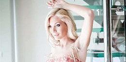 Seksowna Polka promuje bieliznę