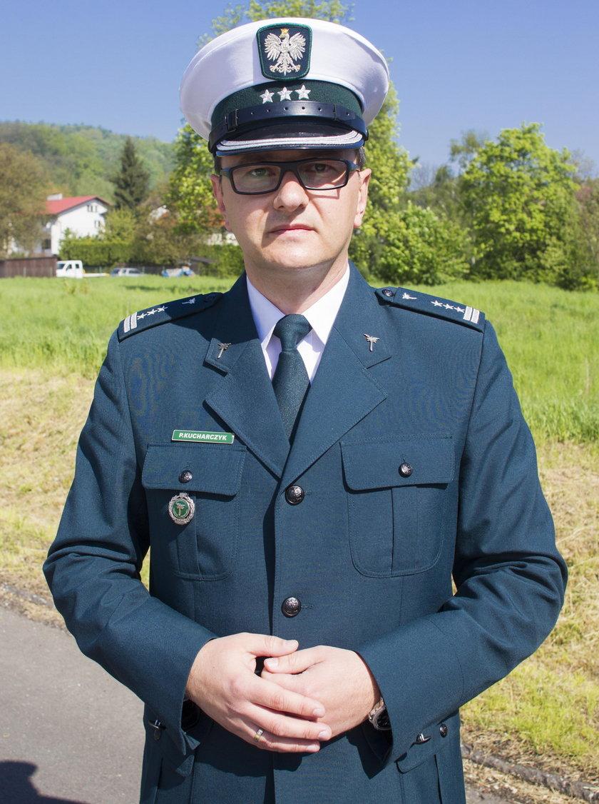 Paweł Kucharczyk inspektor transportu drogowego