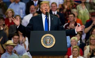 'Republikanie wierzą w rządy prawa, a nie w rządy motłochu'. Prezydent USA o zaprzysiężeniu B. Kavanaugh