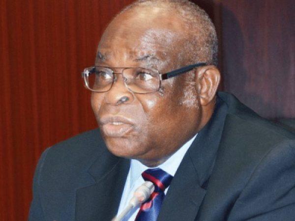 Justice Walter Onnoghen, suspended Chief Justice of Nigeria
