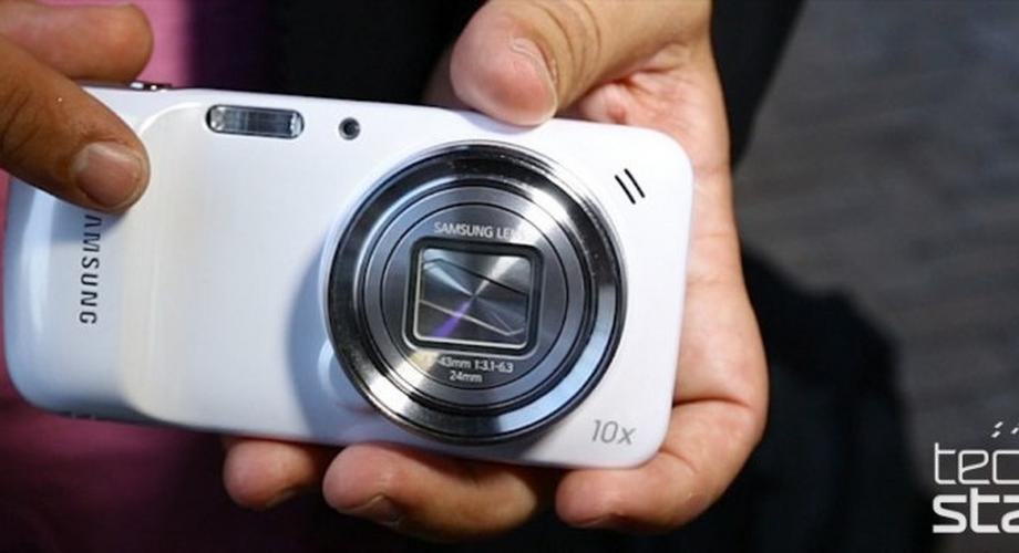 Samsung Galaxy S4 Zoom im Hands-On: Kamera-Androide