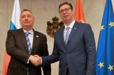 Aleksandar Vučić, Dmitrij Rogozin, Inauguracija, Vila Mir