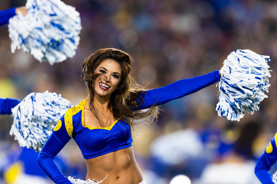 Cheerleaderka Los Angeles Rams