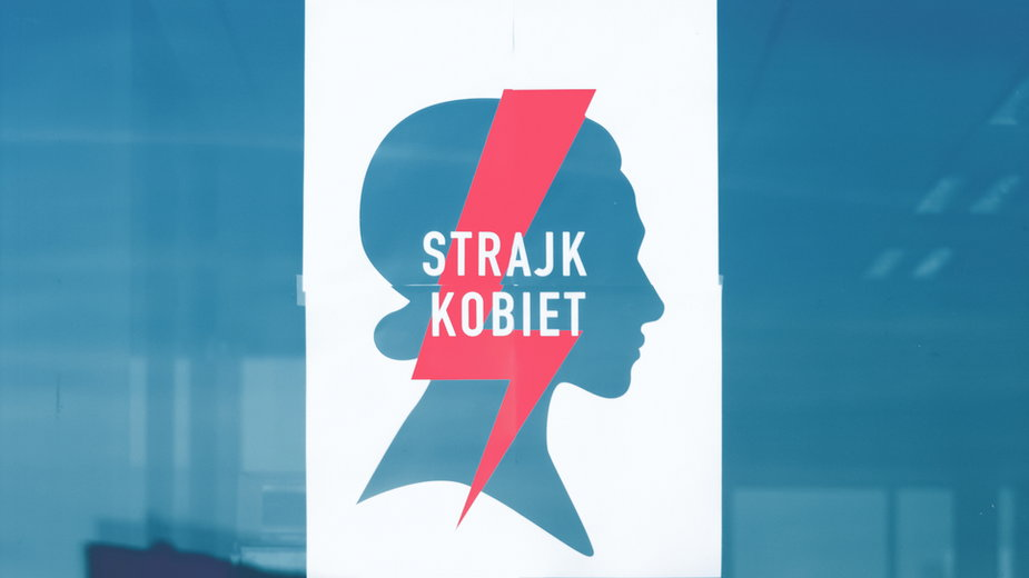 Logo Strajku Kobiet