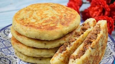 DIY Recipes: How to make Potato meat pancakes