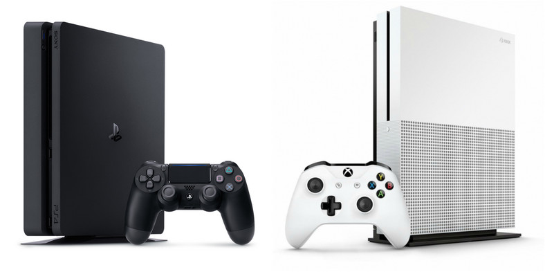 Xbox One S i PlayStation 4 Slim