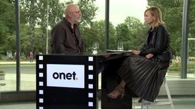 Wojciech Smarzowski w Studiu Onetu na Festiwalu Filmowym w Gdyni