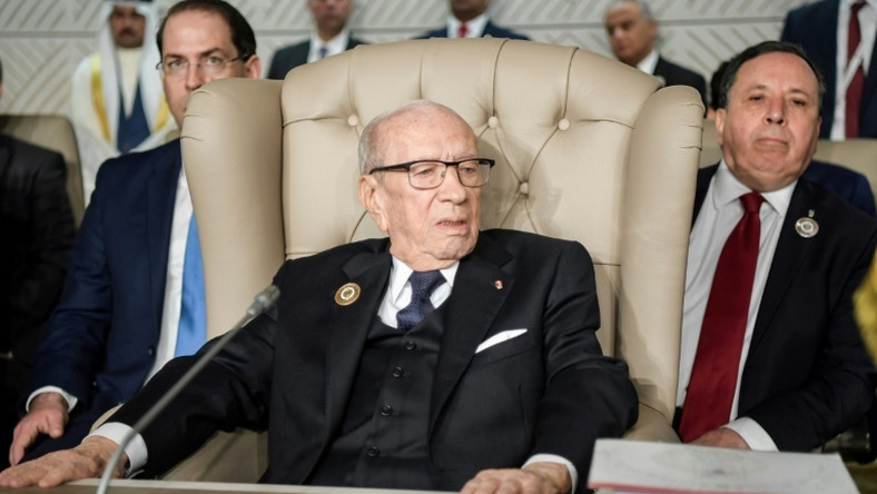 Tunisia's President Beji Caid Essebsi is doing well, his office says, a day after he fell ill