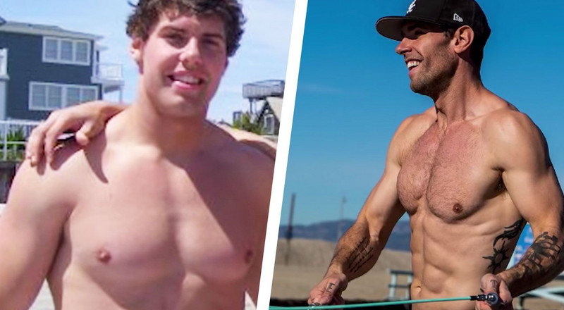 Jumping Rope Every Day Helped This Guy Lose 70 Pounds and Get Shredded