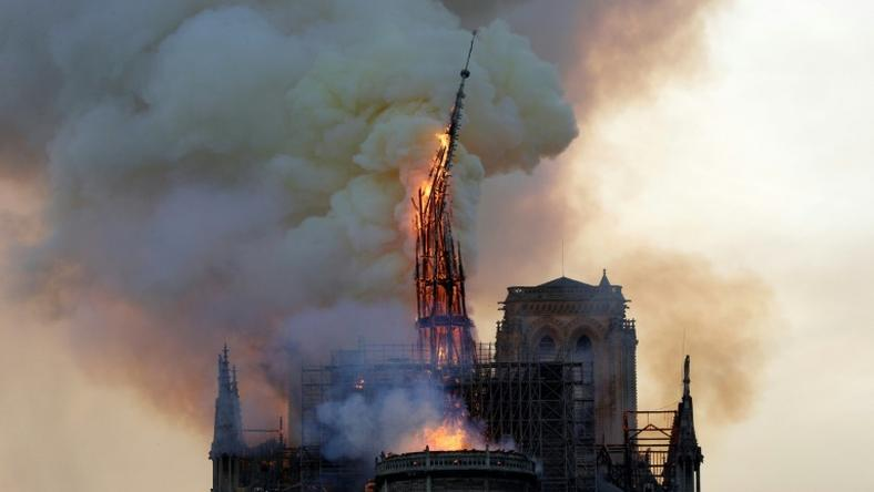 Fire struck Notre-Dame on Monday afternoon and destroyed the steeple within hours