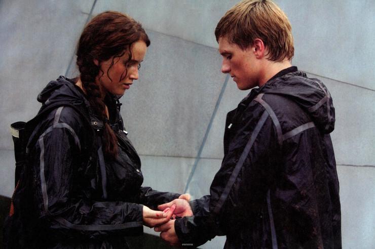 """Jennifer Lawrence i Josh Hutcherson, """"Igrzyska śmierci"""""""